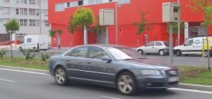 Imagen de un radar fijo en Vitoria