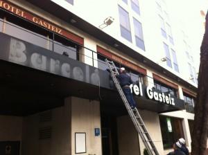 Hotel Barcelo Gasteiz el 1 de octubre de 2012