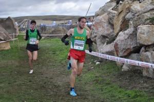 Ivan Fernández, en una carrera anterior
