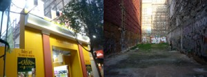 Solar en C/ Fuencarral (antes y Después)