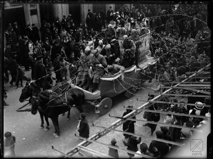 Los Carnavales de hace un siglo en Vitoria-Gasteiz
