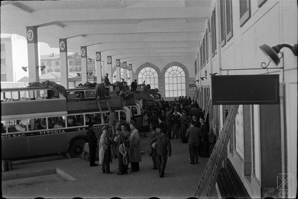 estacion autobuses vitoria calle francia