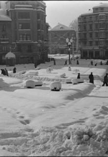 Las nevadas de hace medio siglo