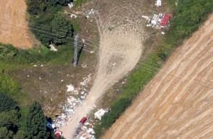 Imagen Aérea de un asentamiento en la zona (Google Maps)