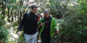 Gorka Urtaran junto a Luis Andrés Orive