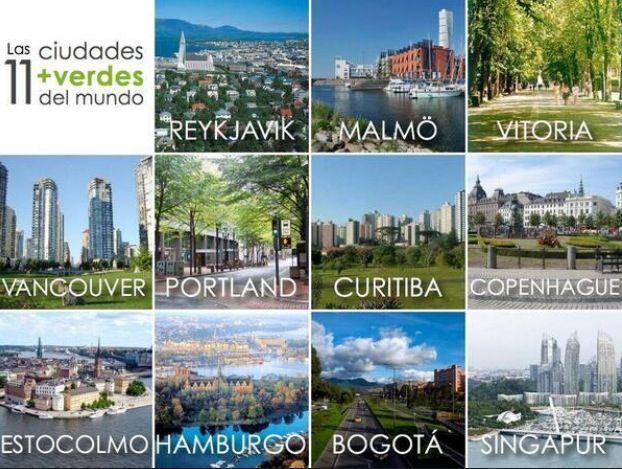 11 ciudades mas verdes del mundo