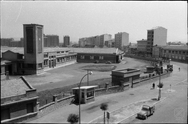 Arque-1964-Matadero-y-calle-Portal-de-Villarreal