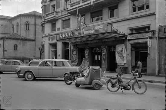 Teatro Amaya. 1962 (S. Arina. Archivo Municipal)