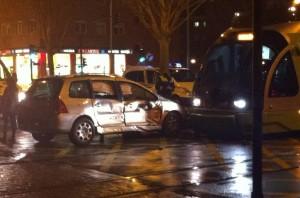 Accidente Tranvía en Portal de Foronda
