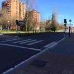 Semáforo en la Calle Iturritxu-Aretxabaleta