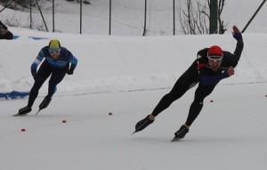 Iñigo Vidondo, patinaje de velocidad