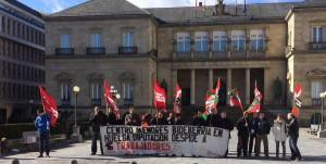 Imagen de 2014, con las movilizaciones realizadas por los trabajadores