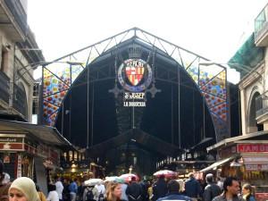 Mercado de la Boqueria en Vitoria