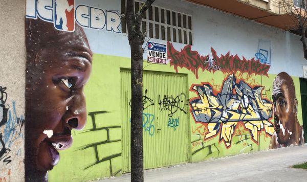 Graffiti de Lamar Odom