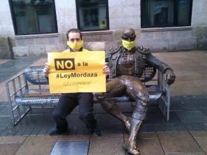 Archivo. Protesta por la Ley