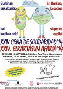 Cena Solidaridad San Viator - 2014