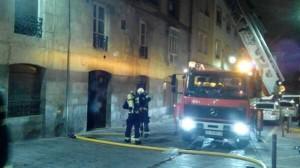 Imagen del incendio. Foto: @aitorklein