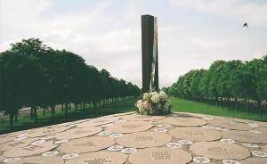 Monumento a las víctimas. Foto Covite