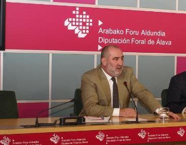 Luis Zarrabeitia, cuando era diputado del Gobierno de Agirre