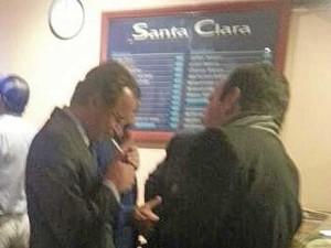 Alfonso Alonso ya fue pillado por Cuatro en Madrid fumando en un bar