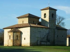 Basílica de Armentia, que acoge numerosas bodas religiosas