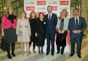 Javier Maroto, en la gala de AMPEA de noviembre (Foto: Quintás)