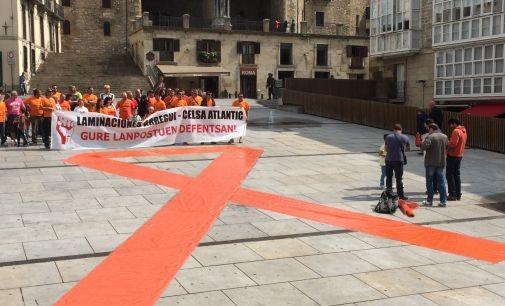 Concluye el calvario de los trabajadores de Laminaciones Arregui