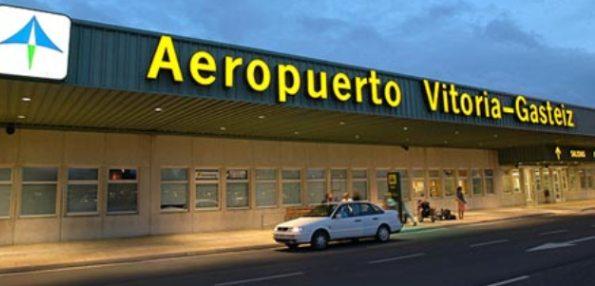 conectividad vitoria aeropuerto foronda