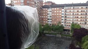 Las fiestas de Arriaga arrancaron entre paraguas y chubasqueros @av_ipararriaga