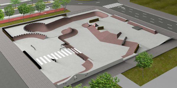 skate park de Santa Lucía