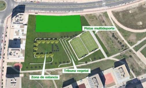 Las obras de la nueva zona deportiva de Zabalgana arrancarán en enero