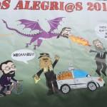 Pancarta Los Alegríos