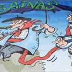 Pancarta Los Bainas