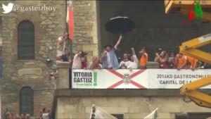 Celedon en la Balconada