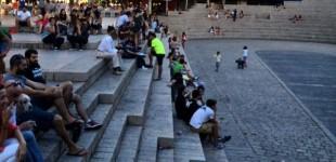 Los mítines sí estarán permitidos en las plazas del centro