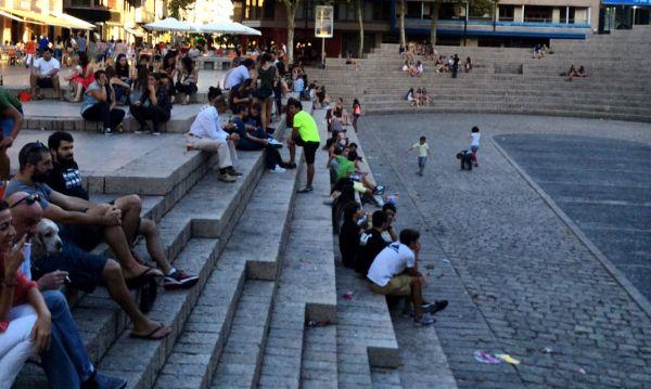 Los vitorianos recuperan la Plaza de los Fueros
