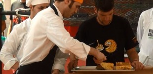 La Capitalidad Gastronómica logra el certificado de que Vitoria cocinó la Tortilla más grande del Mundo