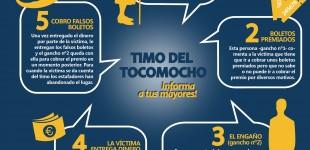 La Policía Local pública una guía para alertar del Timo del Tocomocho