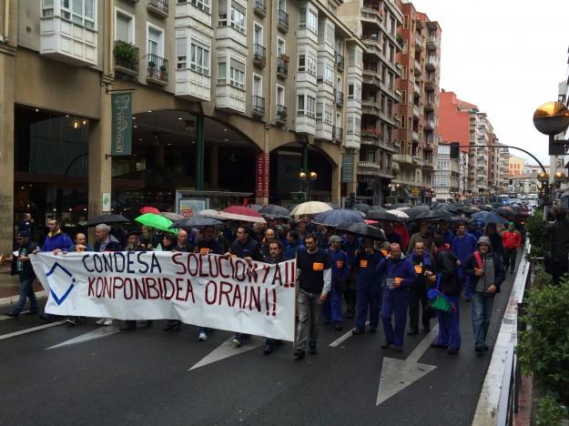 Manifestación de Condesa