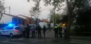 Colocan una bomba casera en la sucursal de Kutxabank en Abetxuko