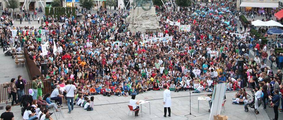 Final de la manifestación. Foto: Manu Arakama (Arakamaren Txokoa)