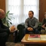 El ministro de Interior recibió a la familia de Borja Lázaro