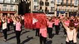 VÍDEO: Flashmob contra el cáncer de mama