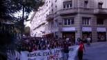 Manifestación Estudiantil en Vitoria-Gasteiz