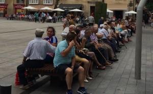 pensionistas mayores jubilados