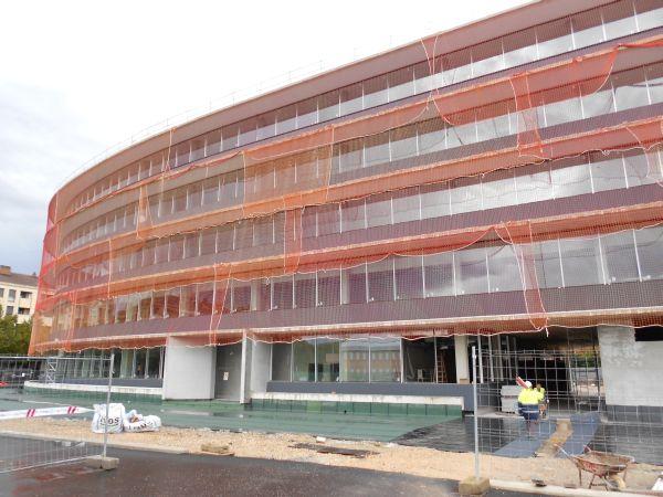 Las nuevas oficinas municipales de san mart n estar n for Oficinas vitoria