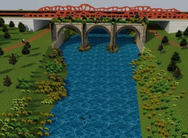 Infografia puente Abetxuko