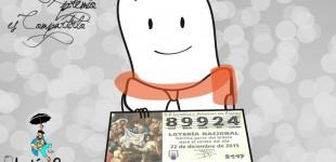 Las empresas de Vitoria se apoyan con participaciones de Lotería de Navidad
