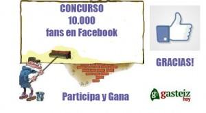 Alcanzamos 10000 fans en Facebook