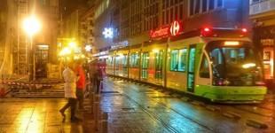 Las obras en Telefónica ponen en riesgo a los peatones en General Álava
